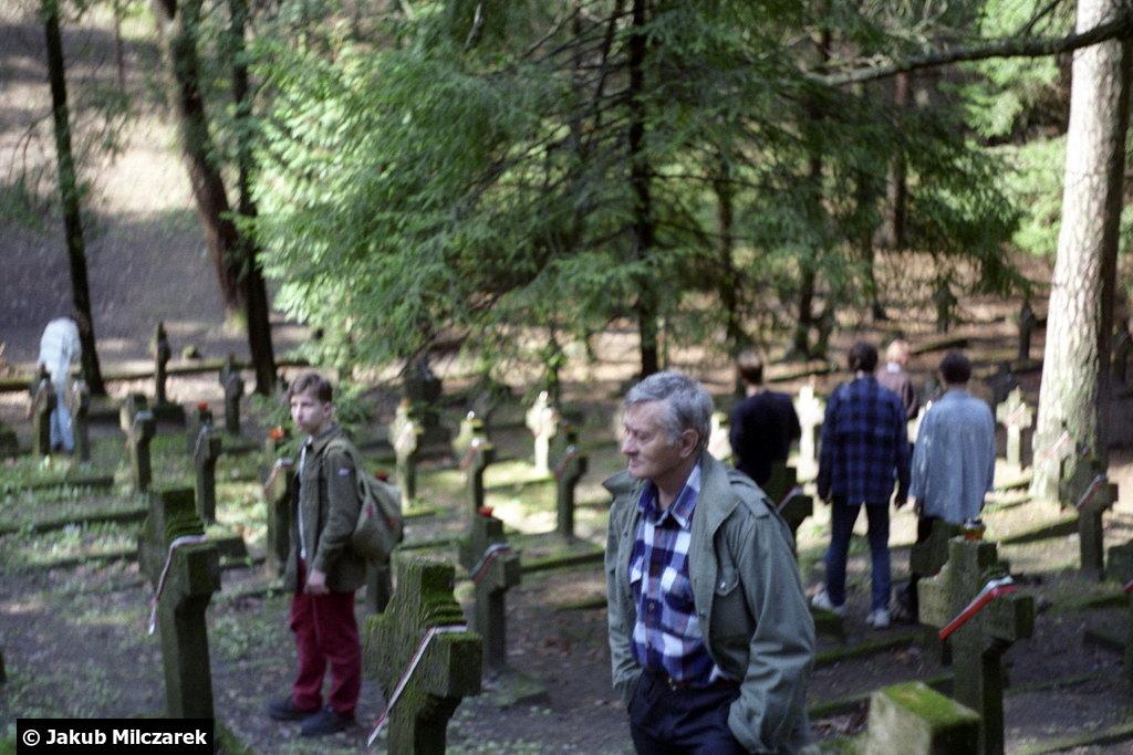 Janusz Boissé - Cmentarz na Rossie 1996