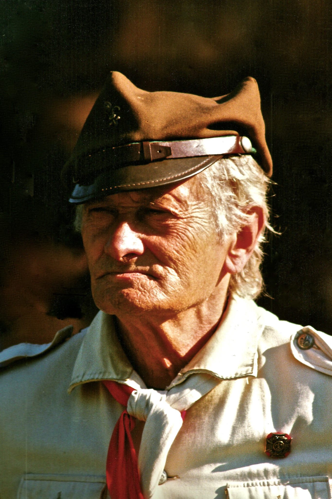 Janusz Boisse na obozie