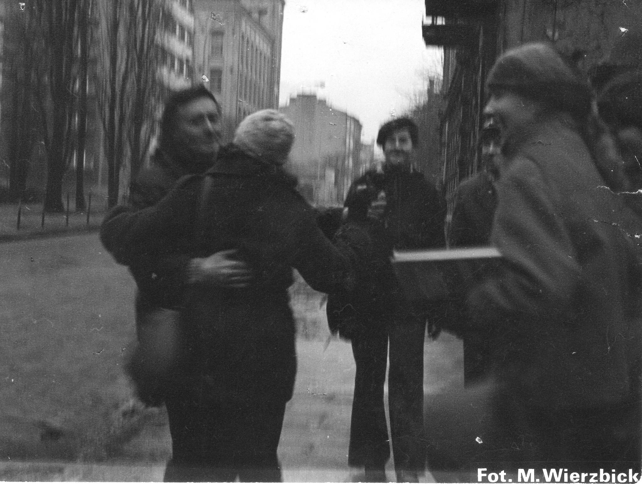Blady tańczy - autor M Wierzbicki